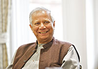 University of Salford Press Office - Professor Muhammad Yunus: Building Social Business Summit -- CC BY 2.0